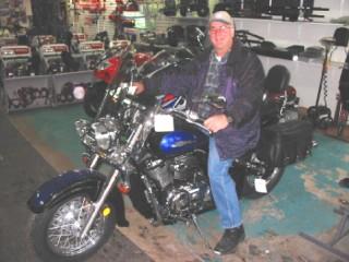 L'achat d'une nouvelle moto