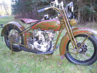 Les motos antiques