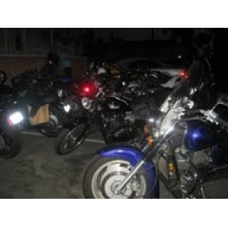 Un bike night Californien
