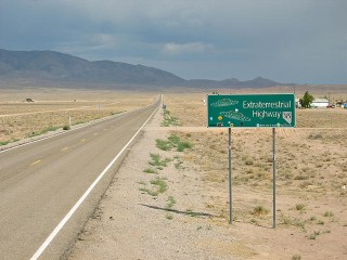 La route des extraterrestres