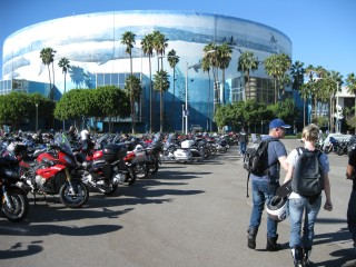 Le salon de la moto Long Beach Californie